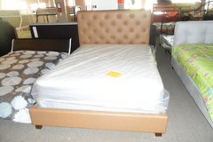 Queen cowboy saddle bed with mattress set in Fort Knox, Kentucky