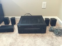 Receiver and speakers in Olympia, Washington