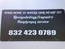 **HOME REPAIRS/HANDYMAN**Remodel  832-423-0789 in Spring, Texas