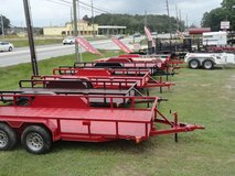 NEW TRAILER INVENTORY IN STOCK in Liberty, Texas