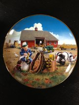Little Farmhands Limited Edition Collector's Plate by Donald Zolan.  Tug o' War   Available at t... in Cadiz, Kentucky