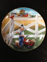 Little Farmhands Limited Edition Collector's Plate by Donald Zolan.  Morning Song.  Available at... in Cadiz, Kentucky
