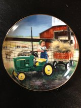 Little Farmhands Limited Edition Collector's Plate by Donald Zolan. Pitching In. in Cadiz, Kentucky