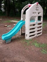 outdoor climb and slide play set in Moody AFB, Georgia