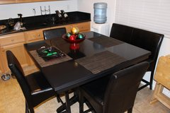 breakfast nook table 3 chairs 1 bench in Lackland AFB, Texas