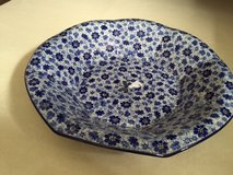 Polish Pottery Dragon Fly Bowl in Wiesbaden, GE