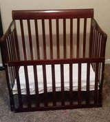 Dream on Me Aden Convertible 4-in-1 Mini Crib, Espresso in Fort Campbell, Kentucky