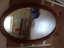 Wood mirror in Baumholder, GE
