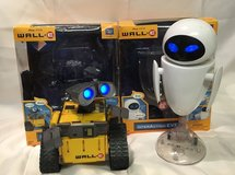 Disney WALL-E & Eve Interactive Robot Toy Lot in Houston, Texas