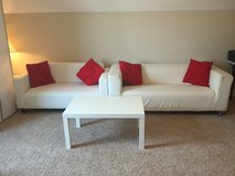 Ikea couches with a coffee table in Lumberton, North Carolina