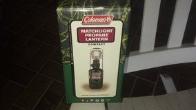 Coleman mini lantern in Grafenwoehr, GE