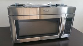 Whirlpool 1.7 cu. ft. Over the Range Microwave in Stainless Steell in Joliet, Illinois