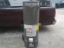 new rheem water heater in Baytown, Texas