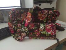 Vera Bradley Handbag and Wallet (English Rose - retired pattern) in Glendale Heights, Illinois