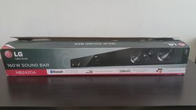 LG Sound Bar Audio System with Bluetooth Connectivity NB2420A in Orland Park, Illinois