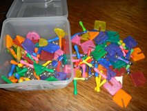 Colorful Shapes Rods Balls Magnetic Building Pieces Set ~ Like Magnetix in Houston, Texas