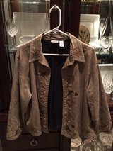 Chico's light jacket - beautiful beadwork and embroidery in Kingwood, Texas