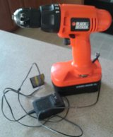 Black And Decker Drill/Battery/Charger in Beaufort, South Carolina