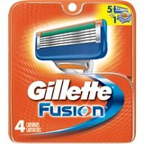Gillette Fusion Razor Cartridge Refills, 4 Count in Clarksville, Tennessee