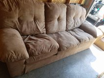 2 piece sofa and love seat...beige in Oswego, Illinois