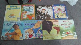 Eight books from Dolly Parton's Imagination Library in Alamogordo, New Mexico