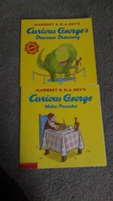 Two Curious George books in Alamogordo, New Mexico