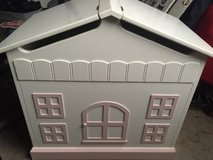 dollhouse toy storage box on wheels in New Lenox, Illinois