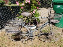 Antique Bicycle Planter in Beaufort, South Carolina
