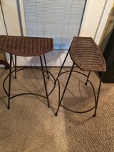 Wicker/Wrought Iron Bar Stools in Warner Robins, Georgia