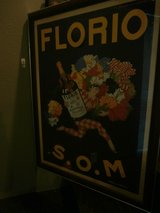 Large Florio S.O.M. framed poster in Cleveland, Texas
