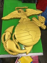 "Custom routed Eagle Globe & Anchor-30""x30"" wall decor-REDUCED in Fort Leonard Wood, Missouri"