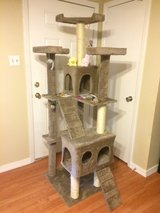 6ft Tri-level Cat Tower in Fort Polk, Louisiana
