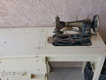Grandmother's and mom's sewing machine in 29 Palms, California