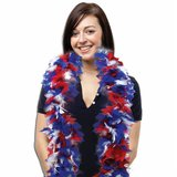 NEW!!  Red, White And Blue Feather Boa in Bartlett, Illinois
