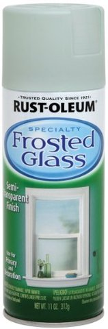 Rust Oleum  Frosted Glass Finish Aerosol-FROST GLASS SPRAY FINISH in St George, Utah