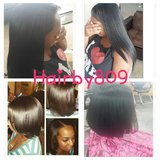 Weaves, braids, highlights, color, haircuts, Dominican blowout, relaxers and more!!!!! in Cherry Point, North Carolina