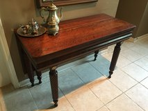 Solid Wood Antique Entery Table. in Baytown, Texas