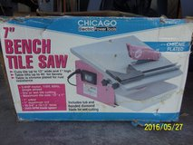 "Chicago Electric 7"" Bench Wet or Dry Tile Saw #40315 in Alamogordo, New Mexico"