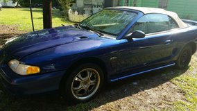 1996 Ford Mustang GT convertible in Camp Lejeune, North Carolina