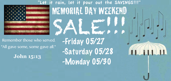 MEMORIAL DAY WEEKEND SALE! in Camp Lejeune, North Carolina