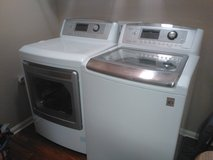 LG washer and steam dryer in Fort Knox, Kentucky