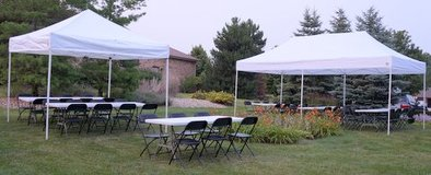 Party Rental Chairs, Tables and Tents in Joliet, Illinois