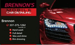 Detailing delivery service. in Fort Polk, Louisiana