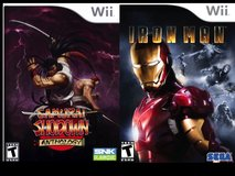Wii Samurai Shodown & Iron Man in Okinawa, Japan