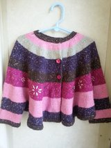 Girl Sweater Cloak Style 5-6T in Naperville, Illinois