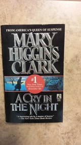 A Cry in the Night by Mary Higgins Clark in Kingwood, Texas