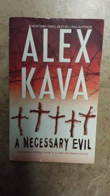 A Necessary Evil by Alex Kava in Kingwood, Texas