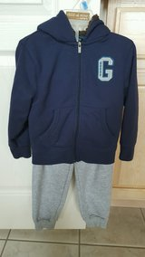 NEW LOW PRICE!-Toddler Boys Authentic 2 Piece Guess Outfit-(Sweatpants & Zippered Hoodie/Size 3T) in Kissimmee, Florida