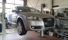 Audi A3 with inspection, free delivery in Hohenfels, Germany