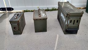 Ammo can containers in Camp Lejeune, North Carolina